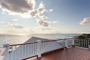 upper deck with water view