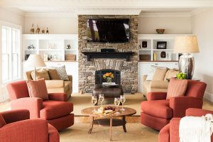 Cape Cod Custom Design Family Room