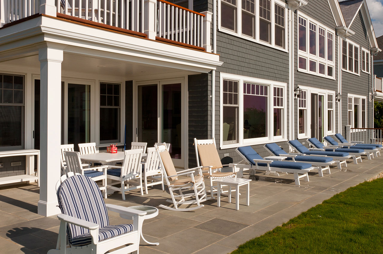 patio and patio lounge chairs